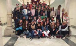 Uczniowie Zespołu Szkół Nr 2 im. ks. prof. J. Tischnera w Hiszpanii