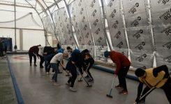 Lekcja curlingu