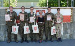 Brązowi medaliści na Ogólnopolskich Mistrzostwach LOK w Wieloboju Obronnym