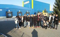 Logistycy na wycieczce w LAKMA STREFA Sp.z.o.o