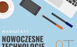Nowoczesne technologie w edukacji – warsztaty dla nauczycieli