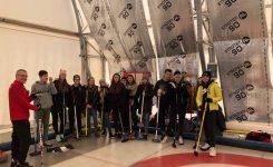 Zajęcia z curlingu